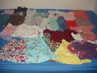 bundle of girls clothes size 1.5-2 years