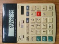 TEXET SL512 Dual Power Desktop Calculator