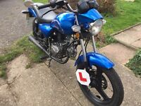 ZONTES TIGER 50cc geared, moped, commuter.