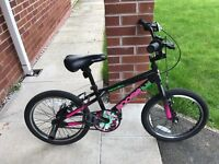 """Fantastic condition 18"""" Apollo Boogie BMX bike. Suit 7-9 year old."""