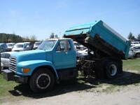1996 Ford F800 - Dump Box- AS IS