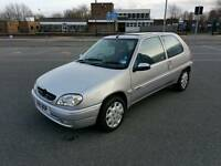 2001 CITROËN SAXO 1.1 ONLY 70,000 MILES SERVICE HISTORY NICE CLEAN CAR LADY OWNER