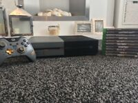 Xbox one advanced warfare 1 tb console and games