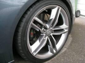 Audi A5 S5 Alloy wheels great tyres. VW A3 A4 Golf