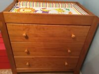 Mamas and Papas Solid Wooden Changing Table