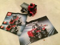 Lego Technic 8065 Mini Container Truck Complete with Instructions