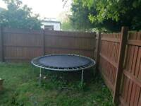 8ft trampoline DISMANTLED READY FOR COLLECTION