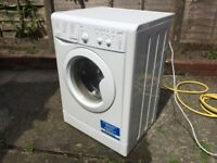 Indesit IWC71452 Washing Machine, Almost New Condition, Hardly Been Used, Fully Working Condition.