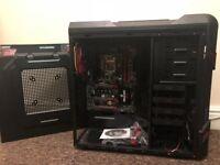 GIGABYTE GA-Z170X-Gaming 3 + PC case