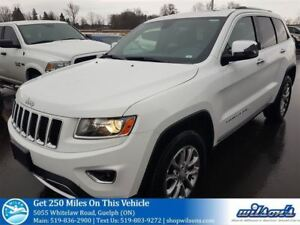 2016 Jeep Grand Cherokee LIMITED 4X4! LEATHER! SUNROOF! HEATED S