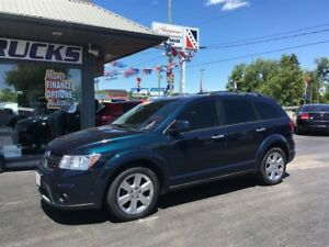 2013 Dodge Journey R/T LEATHER INTERIOR, NAVIGATION AND LOW KMS
