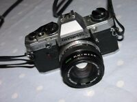 Vintage Olympus OM10 SRL Camera With 50mm Lens Weymouth