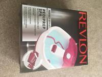 Revlon Pediprep Spa with Pedicure Set - brand new unwanted gift