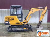 JCB 803 (3 Ton Mini Digger) *MINT*