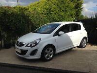 2013 Vauxhall corsa 1.4 petrol white