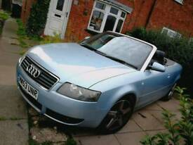 Audi 1.8t convertible £1000 ono