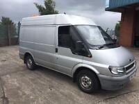 2002 Ford transit with rdt trailer