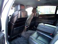 BMW 730LD SE AUTOMATIC 4 DOOR SALOON TV DVD 6 CAMERAS SOFT DOOR CLOSES FSH HPI CLEAR EXCELLENT COND