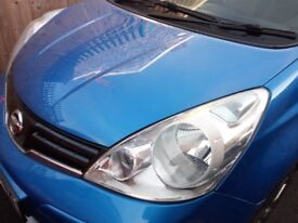 2011 Nissan Note n-tec 1.6L petrol automatic