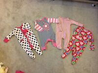 0-3 months girls clothes bundle