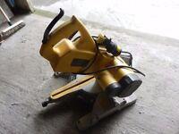 dewalt mitre sliding saw.