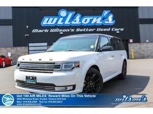 2017 Ford Flex Limited | AWD | NAV | LEATHER | MULTI-PANEL ROOF