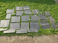 FREE FOR COLLECTION - selection of large bathroom tiles 30cm x 30cm (S8)