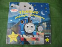 Thomas' Midnight Adventure Large Hardboard Book with Bright Flashing Stars