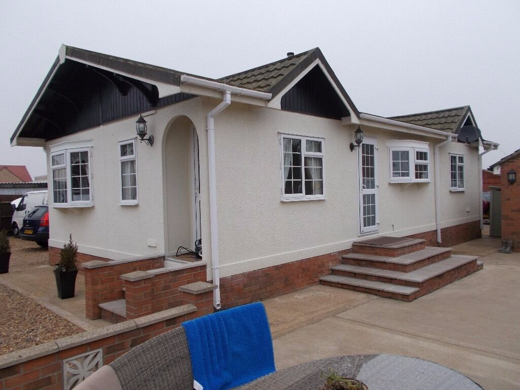 Tingdene mobile chalet twin unit 2 bedroom off site in for Mobil chalet