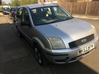 Ford Fusion 1.4 5 door 53 plate