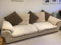 SCS 4 seater scatterback sofa
