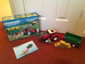 Playmobil 4496 Tractor trailer