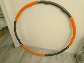 Olympic Hula Hoop - adjustable 6 sections. weighted. RRP: £38.99
