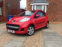 2011 Peugeot special edition 33,470 miles 1 years mot full service history