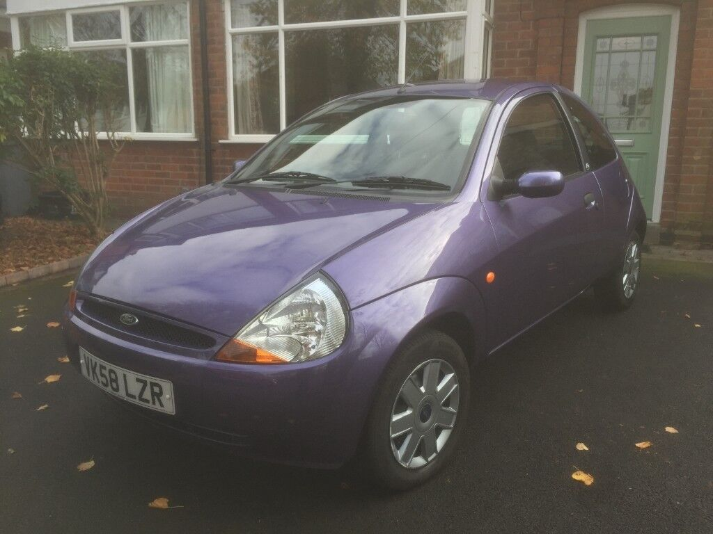 Ford Ka   Purple  Miles Vgc Ideal First