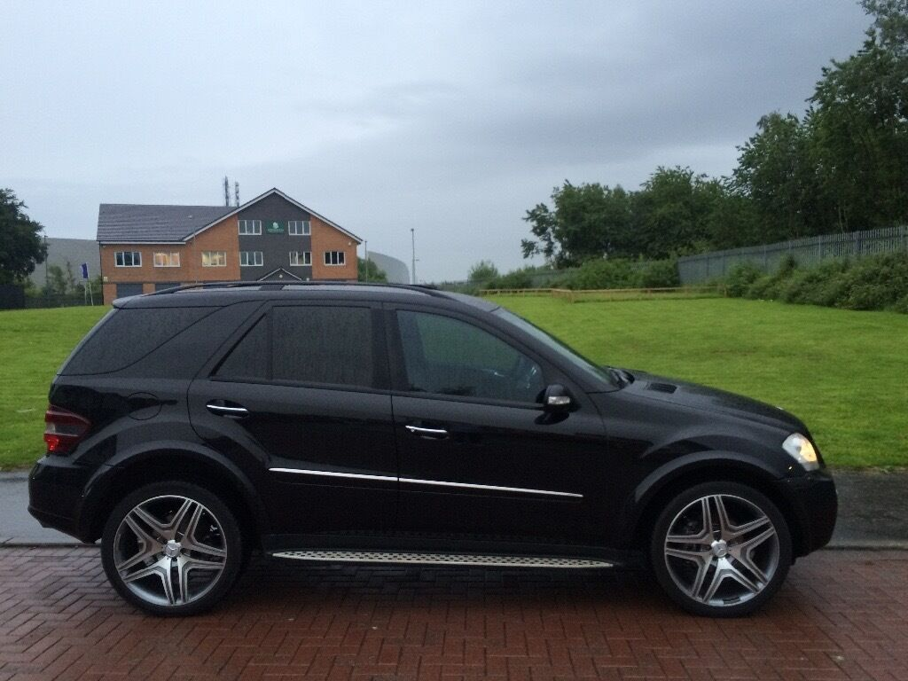 2007 57 mercedes ml 320d amg replica nay px or seap in east end glasgow gumtree. Black Bedroom Furniture Sets. Home Design Ideas