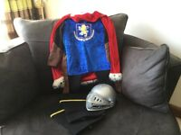 Knight costume age 3-4