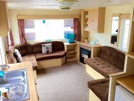 STATIC CARAVAN SALE 2 BED - FREE 2017 SITE FEES - ESSEX, SUBLET, NOT KENT OR NORFOLK - BY THE BEACH.