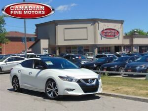 2016 Nissan Maxima LEATHER ROOF-NAVI-CAM-BAL NISSAN WARR