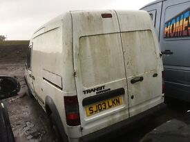 Ford transit connect dieeel van spare parts available