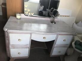 Vintage Dressing Table and Stool