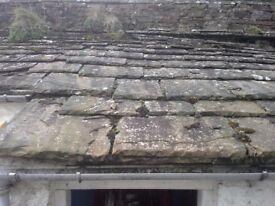 Yorkstone roofing slates Reclaimed