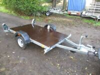NEW / UNUSED ERDE 6-8 X 4-0 (600KG) FLATBED TRAILER......