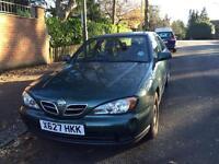 NISSAN PRIMERA 5 DOOR 2000 DRIVES GOOD LONG MOT CLEAN CAR BARGAIN