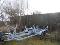 Boat trailer twin axle for 23ft yacht