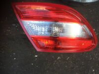 2010 MERCEDES C220 4 DOOR BACK LIGHT EACH 65