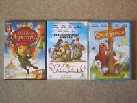 3 Children's DVDs: 'Open Season', 'Valiant', 'The Tale of Despereaux'