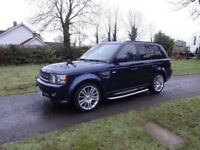 Personal Driver for Hire with Luxury Range Rover - Hourly or Daily rates