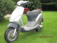 2002 Piaggio Zip 50cc scooter full 12 months mot ready to use