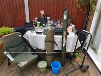 Complete Carp Fishing Set Up Fox, Shimano, Daiwa, Korda, Korum etc